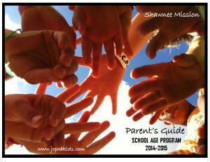 Parent s Guide SCHOOL AGE PROGRAM