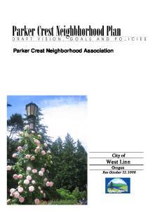 Parker Crest Neighborhood Association