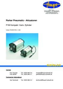 Parker Pneumatic - Aktuatoren