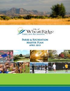 Parks & Recreation Master Plan april 2015