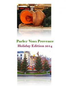 Parlez-Vous Provence Holiday Edition 2014