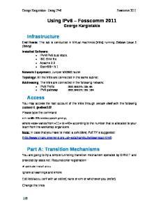 Part A: Transition Mechanisms