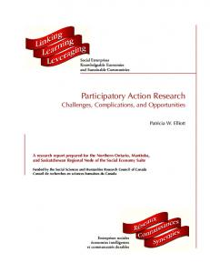 Participatory Action Research Challenges, Complications, and Opportunities