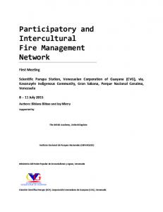 Participatory and Intercultural Fire Management Network