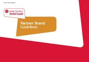 Partner Brand Guidelines. Partner Brand Guidelines