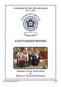 Partnership Germany trip 2016 Page 1