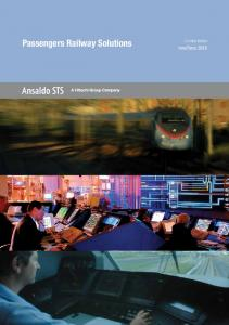 Passengers Railway Solutions