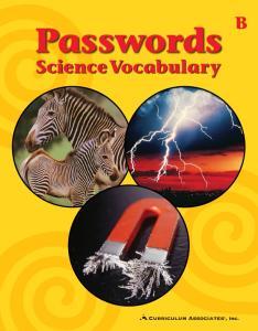 Passwords. ScienceVocabulary