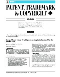 PATENT, TRADEMARK & COPYRIGHT!