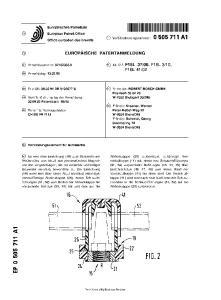 PATENTANMELDUNG. W-8504 Stein(DE) Erfinder: Schmidt, Georg Goethering 72