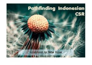 Pathfinding Indonesian CSR. Collaboration for Better Future