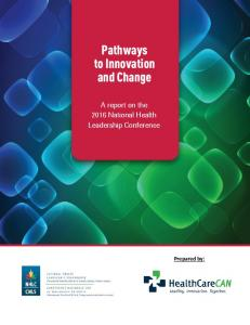 Pathways to Innovation and Change