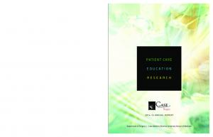 PATIENT CARE EDUCATION RESEARCH