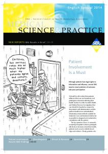 Patient Involvement Is a Must