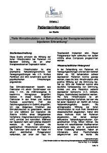 Patienteninformation