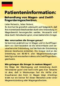 Patienteninformation: