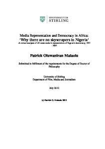 Patrick Oluwaniran Malaolu