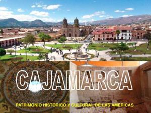PATRIMONIO HISTORICO Y CULTURAL DE LAS AMERICAS