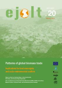 Patterns of global biomass trade