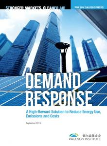 Paulson Dialogue Papers. Demand Response. A High-Reward Solution to Reduce Energy Use, Emissions and Costs