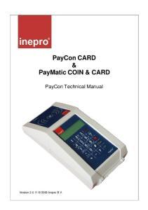 PayCon CARD & PayMatic COIN & CARD