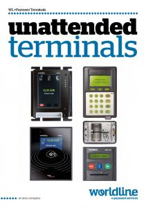 Payment Terminals. unattended. terminals
