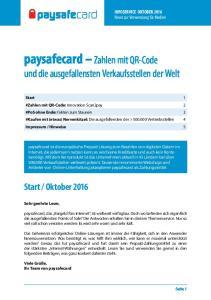 paysafecard Zahlen mit QR-Code