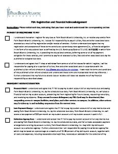 PBA-Registration and Financial Acknowledgement