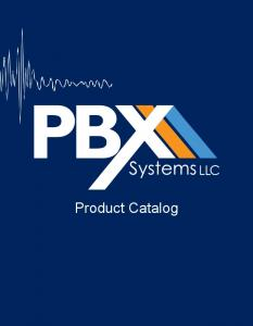 PBX Systems Product Line Card