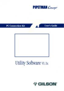 PC Connection Kit User s Guide