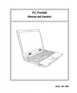 PC Portátil. Manual del Usuario
