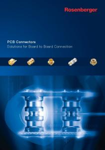 PCB Connectors Solutions for Board to Board Connection