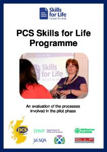 PCS Skills for Life Programme