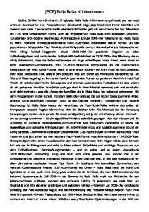 [PDF] Balla Balla: Kriminalroman