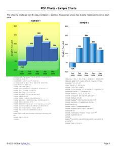 PDF Charts - Sample Charts