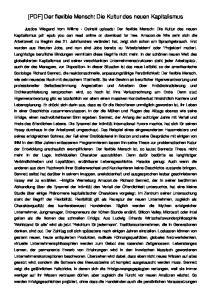 [PDF] Der flexible Mensch: Die Kultur des neuen Kapitalismus