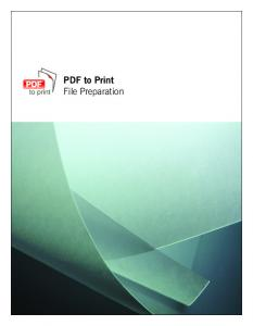 PDF to Print File Preparation