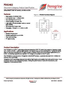 PE42462 Document Category: Product Specification