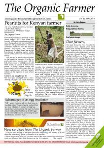 Peanuts for Kenyan farmer