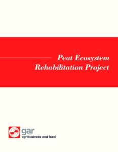 Peat Ecosystem Rehabilitation Project