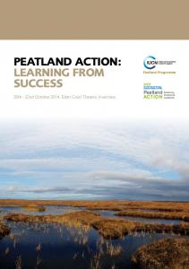 PEATLAND ACTION: LEARNING FROM SUCCESS