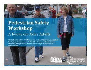 Pedestrian Safety Workshop