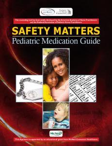 Pediatric Medication Guide