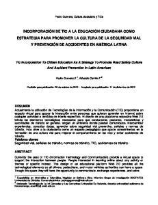 Pedro Guevara, Cultura ciudadana y TICs