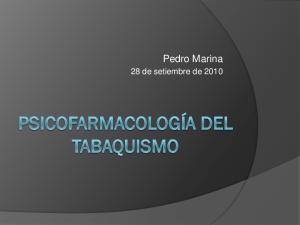Pedro Marina. 28 de setiembre de 2010