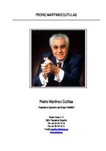 PEDRO MARTINEZ CUTILLAS