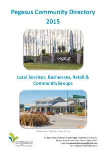 Pegasus Community Directory 2015