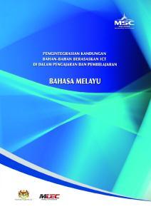 Pengintegrasian Kandungan Bahan-bahan Berasaskan ICT Di Dalam Pengajaran Dan Pembelajaran Bahasa Melayu