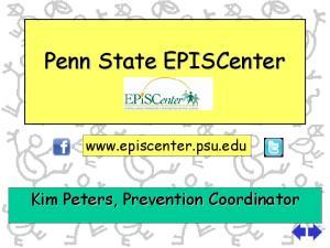 Penn State EPISCenter