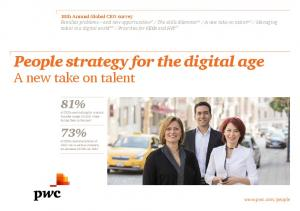 People strategy for the digital age